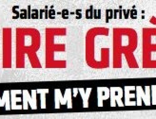 JE VEUX FAIRE GREVE ! COMMENT M'Y PRENDRE ?