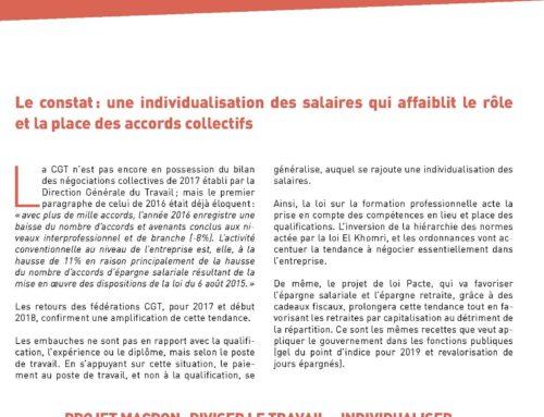 AGIR POUR L'AUGMENTATION DES SALAIRES !