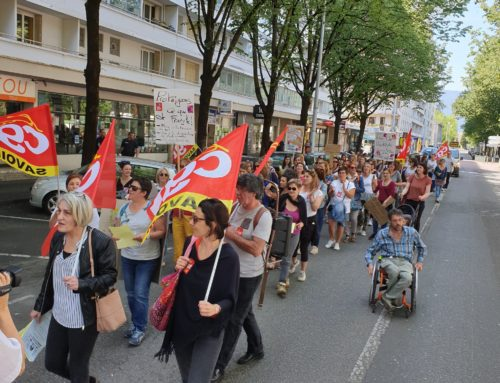 «PAS DE BÉBÉS A LA CONSIGNE» : LA DÉCLARATION DE LA CGT