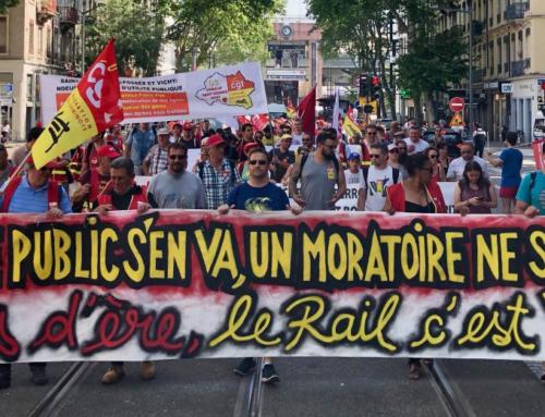 POUR LE SERVICE PUBLIC DU RAIL, UN SIMPLE MORATOIRE NE SUFFIT PAS !