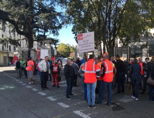 «AUGMENTER LES SALAIRES» : LES AGENTS DU CONSEIL DÉPARTEMENTAL EN GRÈVE