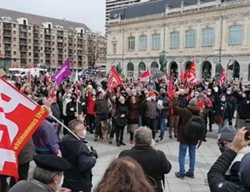 500 manifestants à la marche pour les Libertés