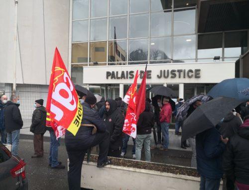 CHATEAU-FEUILLET: en lutte pour l'emploi et assigné en justice!