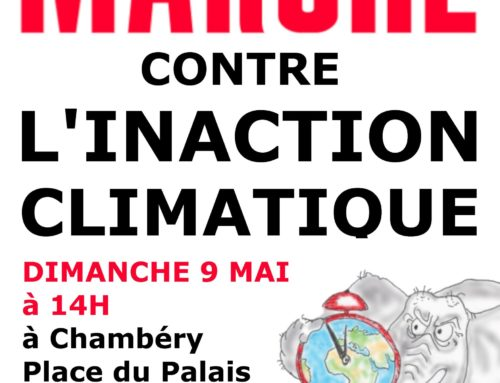 Luttes en Savoie: Marche contre l'inaction climatique