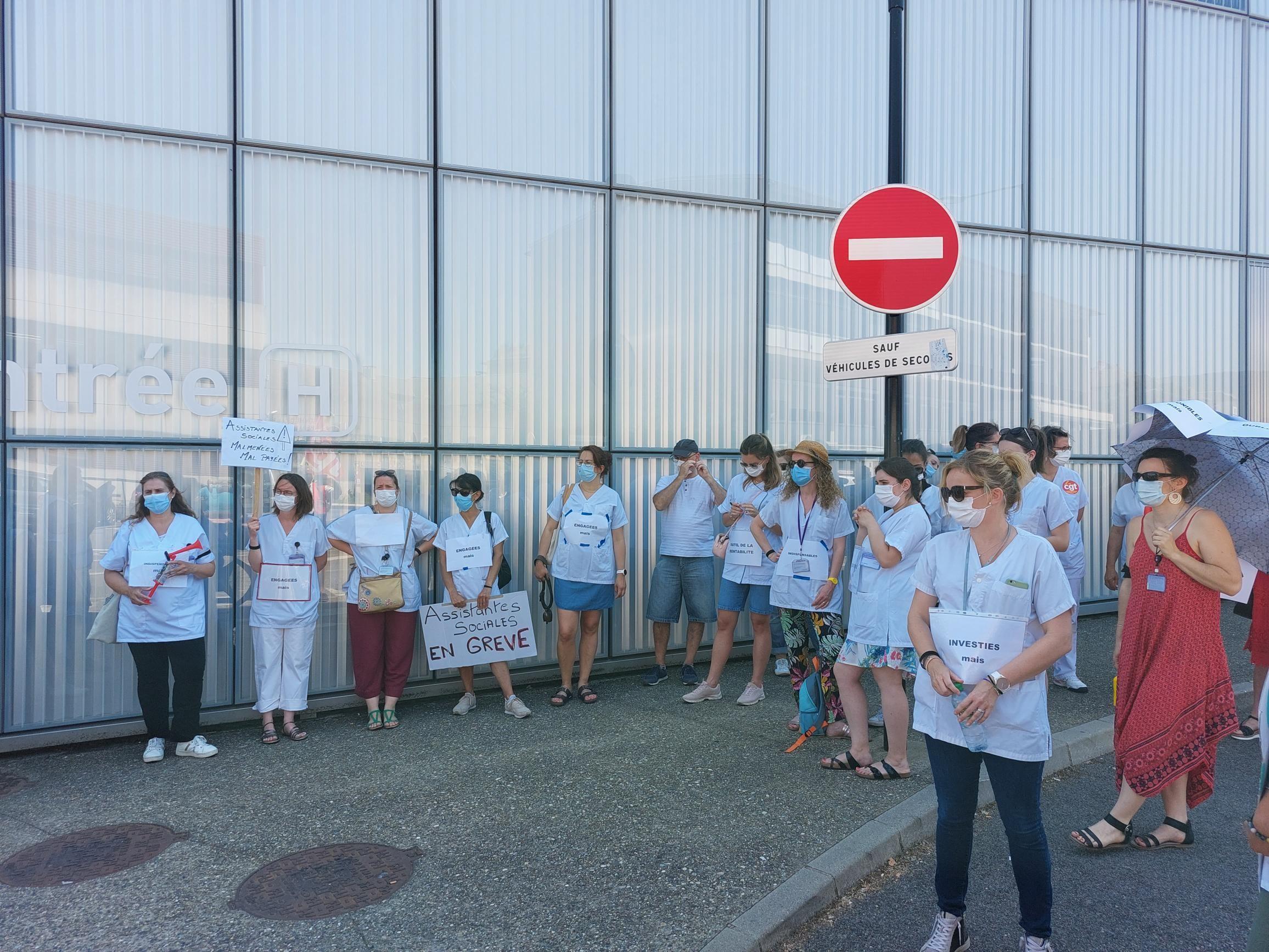 Luttes en Savoie: les soignants se mobilisent le 15/06.