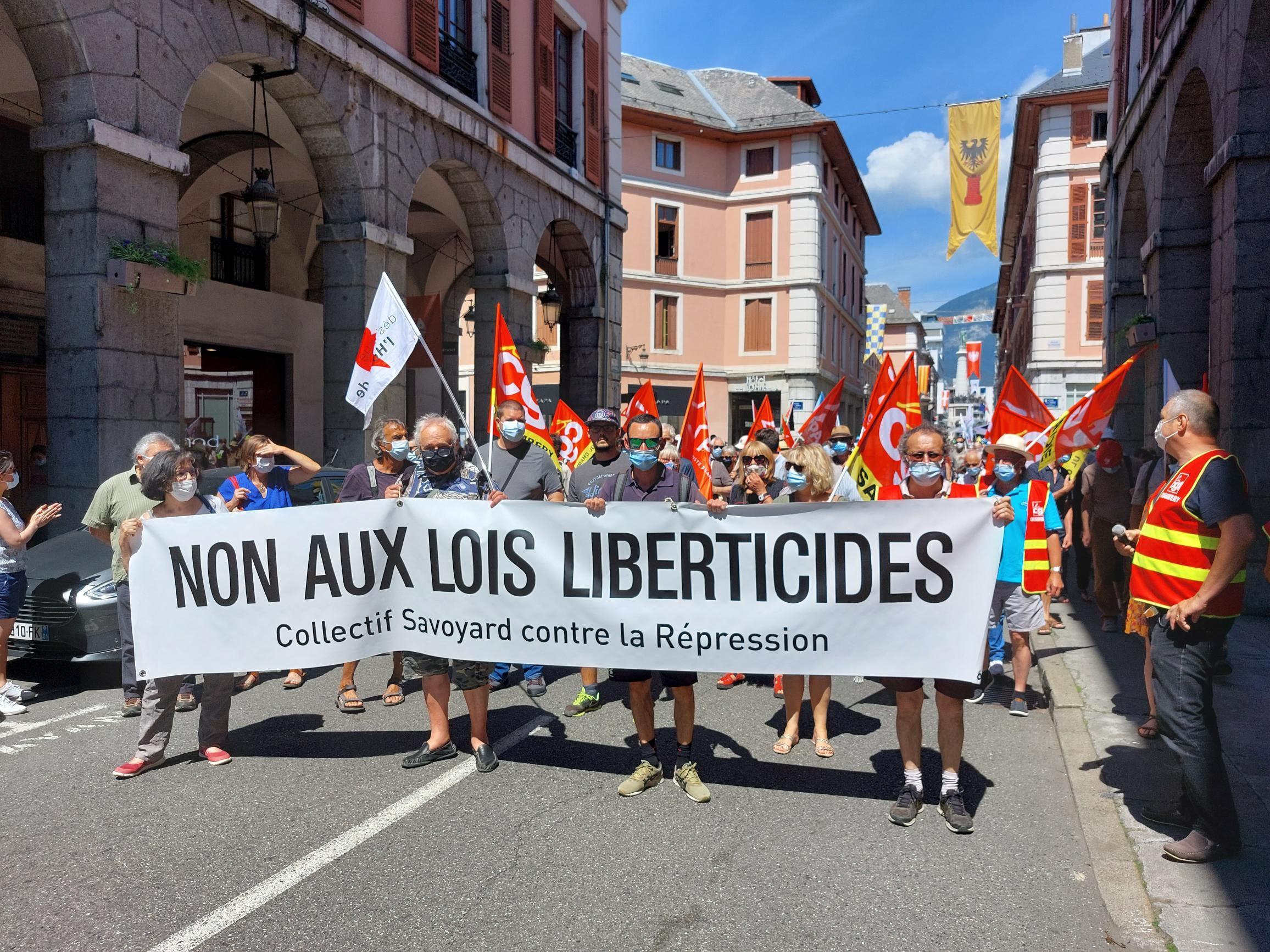 Luttes en Savoie: 400 manifestants à Chambéry contre le racisme le 12/06/21